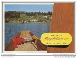 Gasthof Magdalenensee - Besitzer H. Katholnig - Faltblatt In Postkartengrösse Mit 5 Abbildungen - Oesterreich