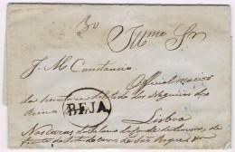 Portugal, 1845, Beja-Lisboa - Portugal