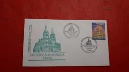Les Philippines FDC Une Basilique Du Saint-Sébastien - Eglises Et Cathédrales