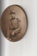 Miroir De Poche Avec Au Dos Une Photo D'un Militaire Au N°182 - Accessoires