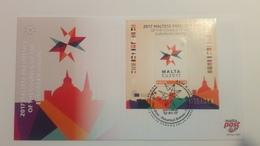 MALTE - 2017 - FDC Maltese Présidency Of The Council Of European Union - Malte