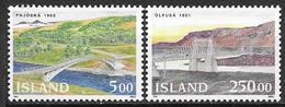 Islande 1992 N° 721/722 Neufs Ponts - 1944-... Republik