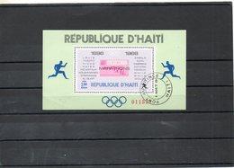HAITI   Bloc Feuillet 2,00    1969    Marathons De Mexico    Oblitéré - Haití