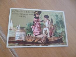 Chromo Ancien Publicitaire  XIXème Liebig Compagnie Liebig Enfant Amoureux - Liebig