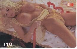 TARJETA DE CANADA DE UNA MUJER DESNUDA  10$ (NUDE-EROTIQUE) - Erotic (Adults Only)