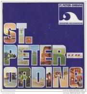 St. Peter-Ording 1975 - 16 Seiten Mit 24 Seiten - Ortsplan Rückseitig 13 Abbildungen - 20 Seiten Informationen Von AbisZ - Schleswig-Holstein