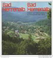 Bad Herrenalb - 12 Seiten Mit 30 Abbildungen - Baden-Württemberg