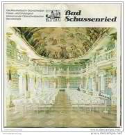 Bad Schussenried 1977 - Faltblatt Mit 23 Abbildungen - Unterkunftsverzeichnis - Kurmittelpreise - Baden-Württemberg