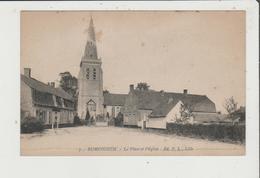 CPA - RUMINGHEM - La Place Et L'Eglise - Sonstige Gemeinden