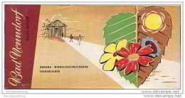 Bad Nenndorf 1958 - 16 Seiten Mit 18 Abbildungen - Niedersachsen