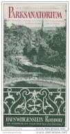 Roisdorf - Parksanatorium - Haus Wittgenstein - Faltblatt Mit 7 Abbildungen - Nordrhein-Westfalen