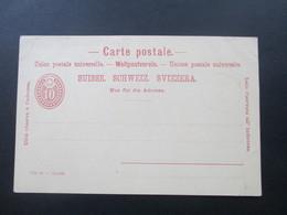 Schweiz Um 1890 AK Vorläufer Jubiläums Postkarte 600 Das Jährige Gründungsfest Der Schweiz. Eidgenossenschaft. Mehrbild - Covers & Documents