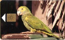 Antilles (Neth) - Bonaire, Telefonia Bonairano, Yellow-Shouldered Parrot (Yellow Chip), 20U, Birds, 10/97, Used - Antilles (Netherlands)