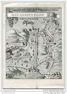 Bad Gleisweiler 50er Jahre - Sanatorium Und Privatklinik - 8 Seiten Mit 16 Abbildungen - Rheinland-Pfalz