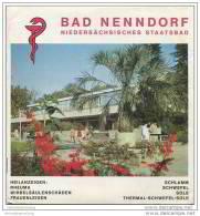 Bad Nenndorf - Faltblatt Mit 18 Abbildungen - Ortsplan - Niedersachsen