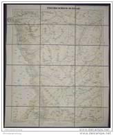 Stubaier Alpen Von Kühtai Bis Zum Zuckerhütl - 1:50 000 - 60cm X 70cm Auf Leinen - Bergverlag Rudolf Rother München - Maps Of The World