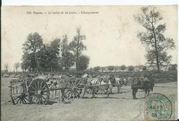TOURS -  Le Sable De La Loire - Chargement - Tours