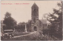 Vosges : PLOMB Les  FORGES , L  église  Et  Monument (  Automobile) - France