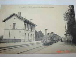 C.P.A.- Nantes (44) - Saint Joseph De Portricq - La Gare - 1910 - SUP (AP 89) - Nantes