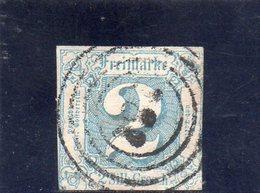 THURN UND TAXIS 1862-4 O - Thurn Und Taxis