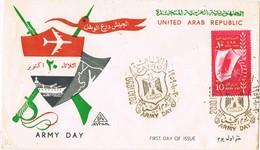 29764. Carta F.D.C. CAIRO (Egypt) 1959. Army Day - Egypt