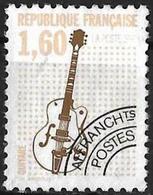 FGM - France (1992) - Préoblitéré: Guitare électrique 1,60 F, Sans Gomme Très Légère Charnière / Slightly Hinged. N°213a - 1989-....
