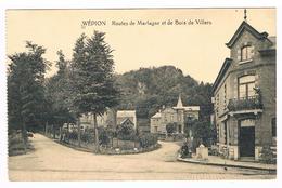 CPA : NAMUR WEPION - Routes De Marlagne Et De Bois De Villers - Namur