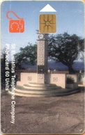 Antilles (Neth) - St. Eustatius - Eutel, EUS-E-08, Wilhelmina Monument, 7000ex, Used As Scan - Antilles (Netherlands)