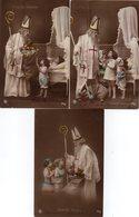 ENFANTS. VIVE SAINT-NICOLAS. LOT De 3 Cartes En Achat Immédiat - Saint-Nicolas