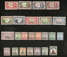 SOUTHERN RHODESIA 1935 - 1953 COLLECTION OF SETS UNMOUNTED MINT/MOUNTED MINT - VERY HIGH CAT VALUE!!! - Rhodésie Du Sud (...-1964)