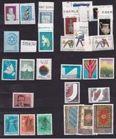 1974 Turchia Turkey ANNATA 12 Serie Con 24 Valori (Michel 2320-27, 2331-46) MNH** - 1921-... Republic
