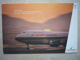 Avion / Airplane / CATHAY PACIFIC / Boeing B747 / Airline Issue - 1946-....: Ere Moderne