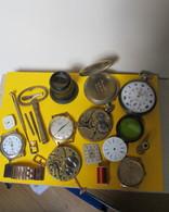 Lot De Pièces De Réparation Pour Horloger - Jewels & Clocks