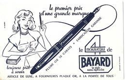 LOT 2 Buvards - Le 4 De BAYARD  - STYLO SANS REPROCHE - Buvards, Protège-cahiers Illustrés