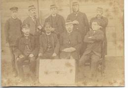 FOTO 13B/     STATION??  SIMPELVELD     1894   BIJZONDER DOCUMENT!!!!  GEEN POSTKAART MAAR FOTO 13/18CM - Unclassified
