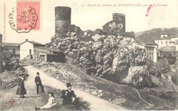 (42) - Loire - Ruines Du Château De Rochetaillée - Rochetaillee