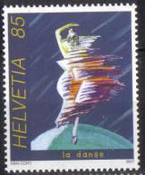 Zu 1247 / Mi 2017 / YT 1943 Sport La Danse ** / MNH - Zwitserland