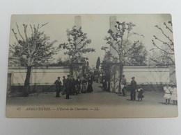 Armentières - 47 - L' Entrée Du Cimetière - L.L. - Armentieres