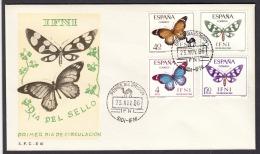 12.- IFNI 1966 (AFRICAN SPANISH COLONY) BUTTERFLIES - Schmetterlinge