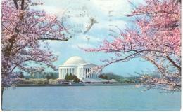 POSTAL    WASHINGTON  - EE.UU.   - JEFFERSON MEMORIAL - Estados Unidos