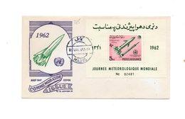 LAB285 - AFGANISTAN 1962 , Space Razzo Rocket Fusee Rakete , Fdc Commemorativa - Afghanistan