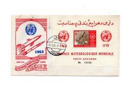 LAB286 - AFGANISTAN 1963 , Space Razzo Rocket Fusee Rakete , Fdc Commemorativa - Afghanistan