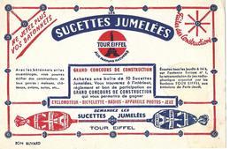 Buvard - SUCETTES JUMELEES TOUR EIFFEL Aux Parfums Naturels - Cake & Candy