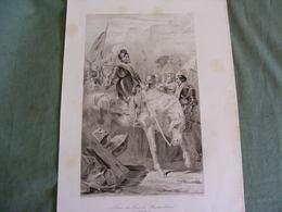 Prise Du Fort De Montmélian, 16 Nov 1660 Gravure Du XIX° - Engravings