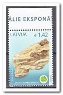 Letland 2018, Postfris MNH, Minerals - Letland