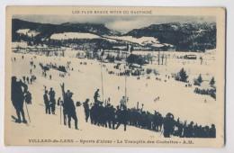 VILLARD DE LANS (38 - Isère) - Sports D'hiver - Le Tremplin Des Cochettes - Ski - Animée - Villard-de-Lans