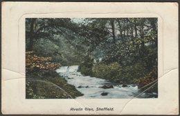 Rivelin Glen, Sheffield, Yorkshire, 1908 - Taylor's Orthochrome Postcard - Sheffield