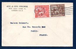 Grande-Bretagne. Lettre De Londres à Paris Septembre 1924 - 1902-1951 (Rois)
