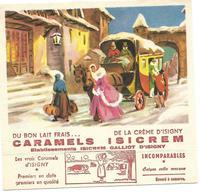 Buvard - CARAMELS ISICREM - Etablissements ISICREM GALLIOT D'ISIGNY - Cake & Candy