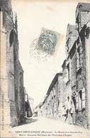 Cpa 53 Saint Denis D'Anjou , La Mairie Et Grande Rue , écrite 1907 - Altri Comuni